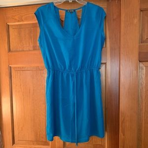Cute Dress in Blue with Cinched Waist 💙